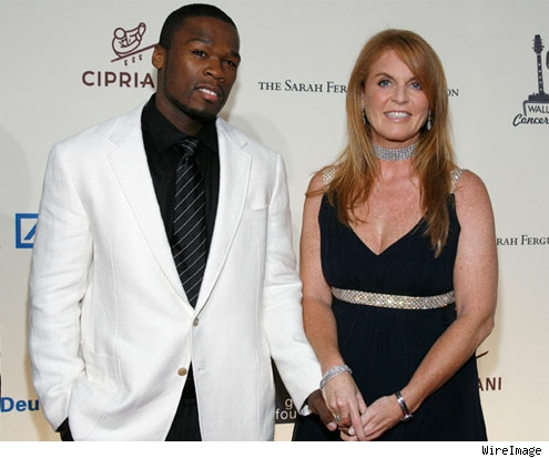 50 Cent and Sarah Ferguson