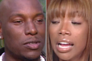 Tyrese and Brandy