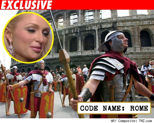 Paris, Code Name: Rome