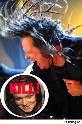 Korn and LIndsay Lohan