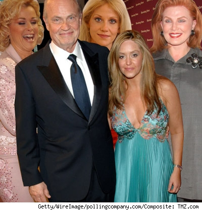 Fred Thompson and his exes.