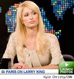 Paris' first post-slammer interview on Larry King Live