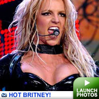 Britney Spears: click to launch