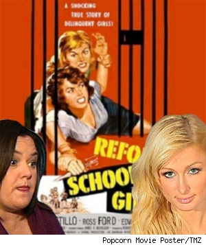 Rosie O'Donnell and Paris Hilton: Prison Babes