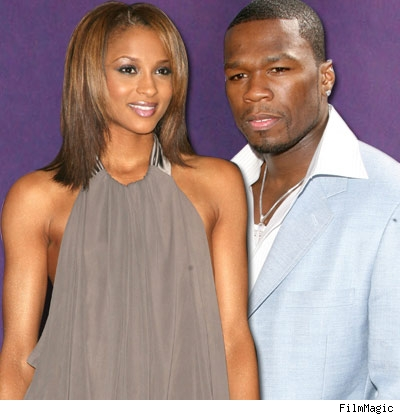 Ciara and 50 Cent