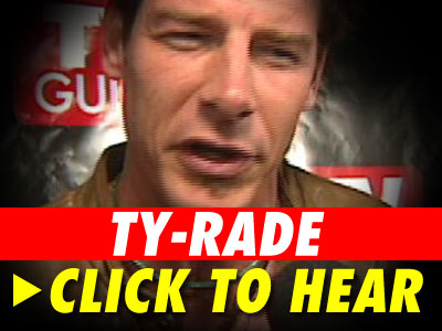 Nothing's gonna stop Ty Pennington from getting his party on ... especially ...