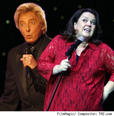 Barry Manilow, Rosie O'Donnell