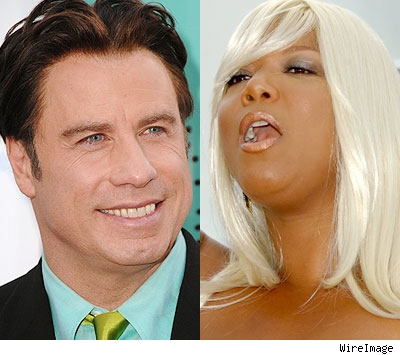 John Travolta & Queen Latifah