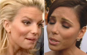 Jessica Simpson and Eva Longoria