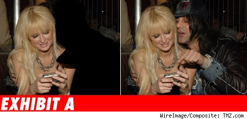 Paris Hilton, Criss Angel