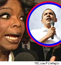 Oprah has a crush on Obama
