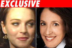 Lindsay Lohan and Blair Berk