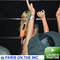 Paris Hilton: Click to launch