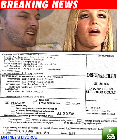 Britney divorce docs