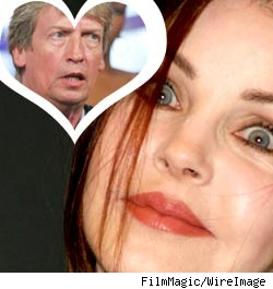 Priscilla Presley and Nigel Lythgoe