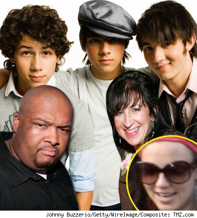Jonas Brothers, Big Rob, Britney Spears, Felicia Culotta