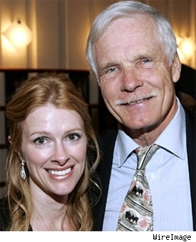 Elizabeth Dewberry, Ted Turner