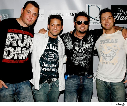 Rich Cronin, Jeff Timmons, Chris Kirkpatrick, Lance Bass