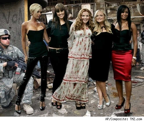 Spice Girls in Baghdad