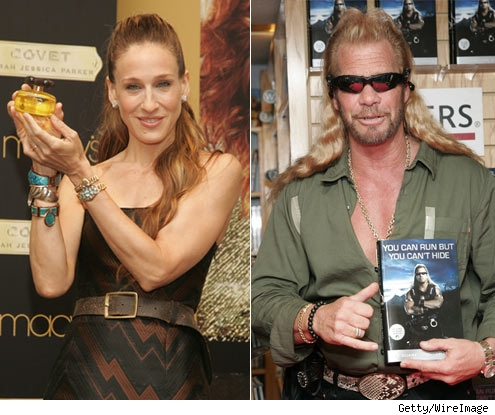 Sarah Jessica Parker and Duane Dog Chapman
