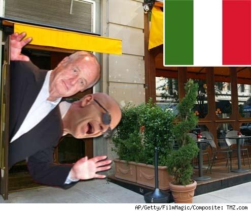 Bruce Willis and Jerry Weintraub