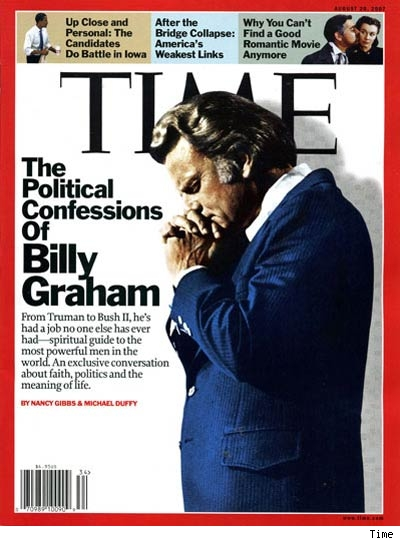 billy graham. The Devil and Billy Graham