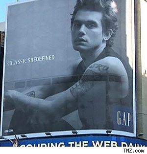 John Mayer Gap ad