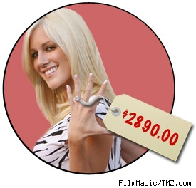 Heidi Montag's $2890.00 ring
