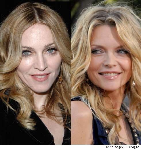 Madonna, Michelle Pfeiffer