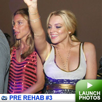 Lohan at Pure -- click to launch