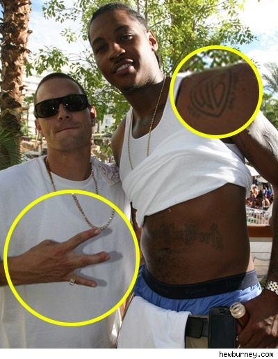 Kevin Federline, Carmelo Anthony Vegas' main lensman Hew Burney snapped this