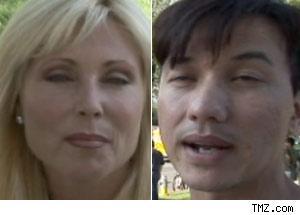 Pamela Bach and Bobby Trendy
