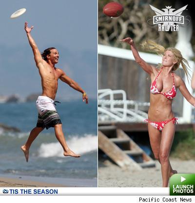 Matthew McConaughey and Tara Reid