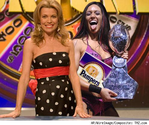 vanna White and Jen Johnson