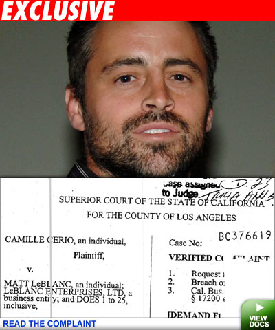 matt leblanc daughter. big bucks by Matt LeBlanc!