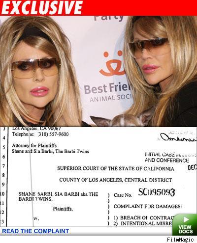 Exclusive: Barbi Twins