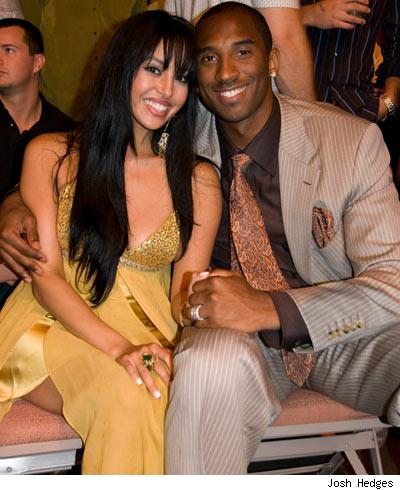 Kobe and Vanessa Bryant TMZ obtained this photo at