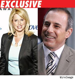 Rita Cosby, Matt Lauer
