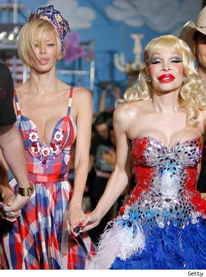 Jenna Jameson and Amanda Lepore