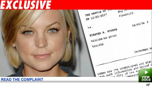 Stormy Times Ahead -- Soap Star Charged with DUI!