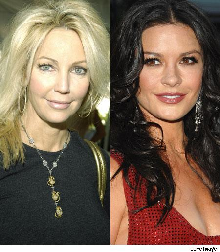 Heather Locklear, Catherine Zeta-Jones