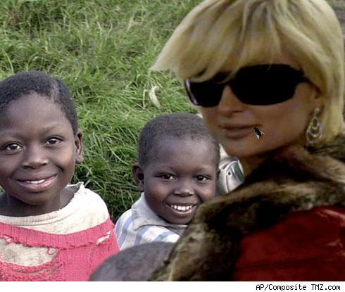 Paris Hilton in Rwanda?