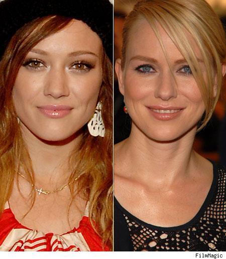 Hilary Duff, Naomi Watts