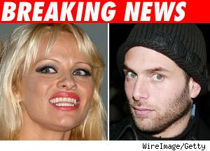 Pam Anderson and Rick Solomon