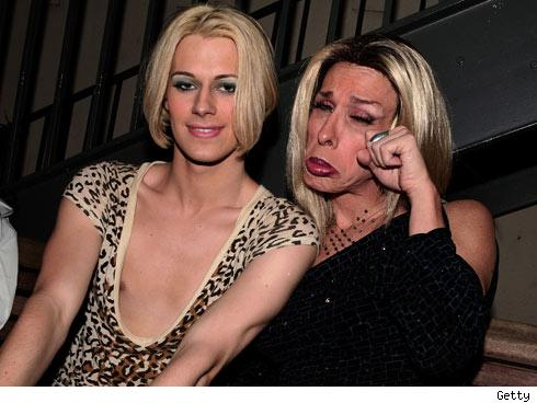 Chris Crocker and Alexis Arquette