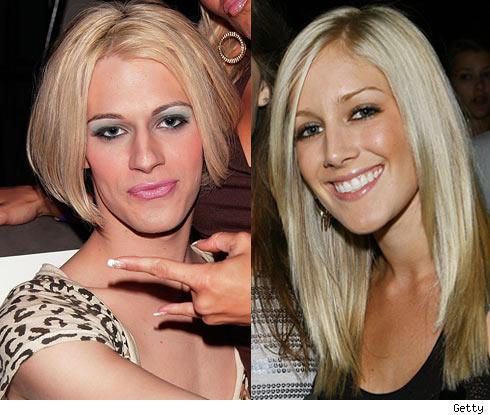 Heidi Montag. Chris Crocker and Heidi Montag