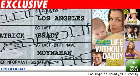 Moynahan birth certificate