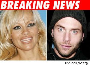 Pamela Anderson and Rick Soloman