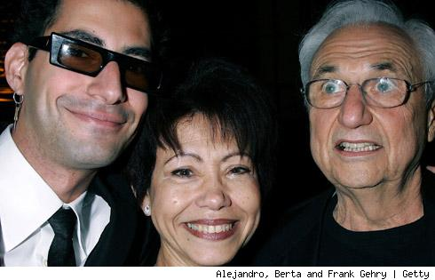 Alejandro Gehry; Berta Gehry; Frank Gehry
