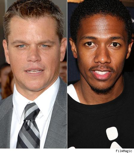 Matt Damon, Nick Cannon